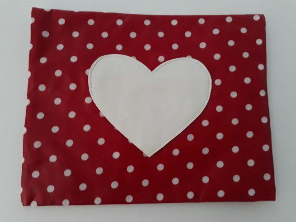 Billendoekjeshoes rood hart